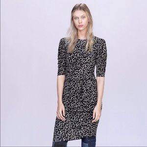 🏷NWT Rebecca Taylor Floral Fizz Midi Dress